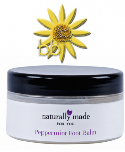 Peppermint foot balm