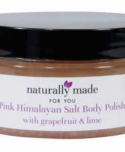 Himalayan salt body polish grapefruit & lime