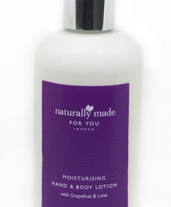 Moisturising hand and body lotion - grapefruit & lime